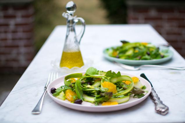geschaafde asperges salade-0282
