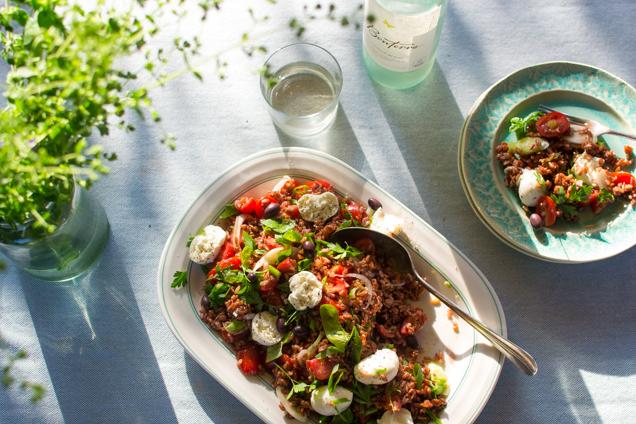rode rijst salade 1-0479