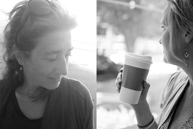 peet en Tal portret coffee zw-1997 kopie