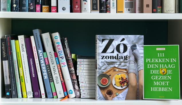 Books Kitchen Table Food